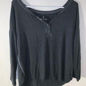 2/$10 Aerie 3/4 Long Sleeve Shirt